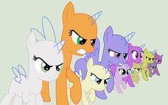3+ Ponies on MLP-Bases - deviantART