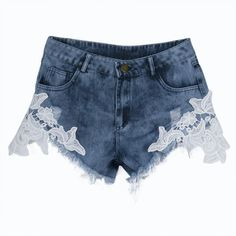 Available Now on our store:  Tassel Ripped Hol... Check it out here ! http://mamirsexpress.com/products/tassel-ripped-hole-high-waist-shorts-jeans-denim-lace-short?utm_campaign=social_autopilot&utm_source=pin&utm_medium=pin