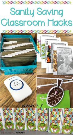 18 time saving tips and tricks to keep your sanity in the classroom. Great ideas for new teachers, veteran teachers, organization, and classroom management. Classroom Hacks, Classroom Organisation, Teacher Organization, Classroom Setup, Teacher Hacks, Kindergarten Classroom, Future Classroom, Classroom Management, Organization Ideas