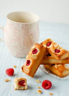 Raspberry-Almond Financiers
