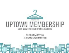 Uptown Membership - Claire ($225.00 Monthly)