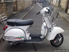 2012 LIMITED ITALIAN EDITION VESPA PX150 SCOOTER £2,795 Barnoldsswick