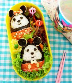 Mickey and Minnie Food Design