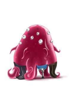 Characters by Ruslan Karazbaev.  Cute illustrations and characters