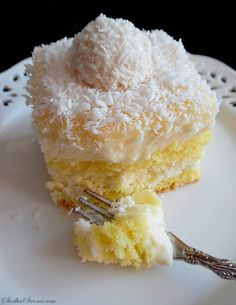 "Ciasto ""Rafaello"" - Najlepsze - Przepis - Słodka Strona Oreo, Ice Cream, Sugar, Eat, Cook, Recipes, Simple Recipes, Gifts, No Churn Ice Cream"