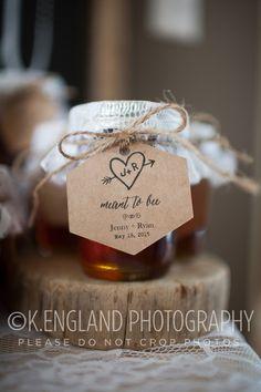 Our honey wedding favors