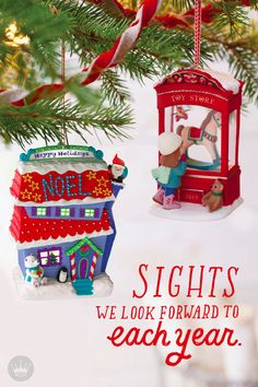 Love driving around with your family to see all the brilliant Christmas lights and festive lawn decor? Cherish those memories with this spectacular Hallmark Keepsake Ornament.