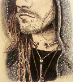 Viking Dude 2015 - Final by Amy Suzanne Taggart aka Amz  #amzart #artist #artwork #sketch #drawing #art #illustration