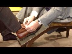 Cheaney Shoes - advice on styles, lasts and fitting How To Look Attractive, How To Look Handsome, Cheaney Shoes, London City, Toe Shape, Advice, Mens Fashion, Retail Displays, Youtube