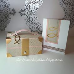 Elas Creative Hands: For Confirmation - Travel Stampinup, Decorative Boxes, Blog, Hands, Travel Packing, Home Decor, Paper, Packaging, Creative