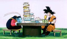 Goku and King Kai