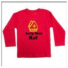 T-Shirt lange mouw hulp sint Raf