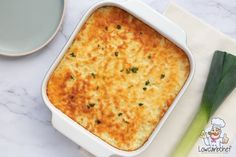 Oven dish with leek and minced meat – Lowcarbchef. No Carb Recipes, Clean Recipes, Healthy Recipes, Oven Dishes, Weight Watchers Meals, Meal Planning, Food And Drink, Low Carb, Healthy Eating