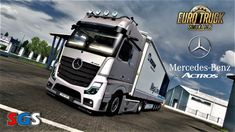Mercedes Benz New Actros 2019 v1.4 - Euro Truck Simulator 2