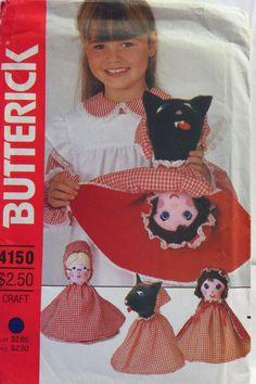 Butterick 4150 Reversible Doll