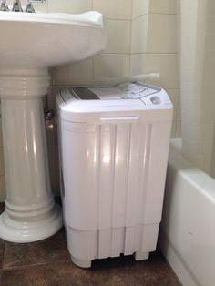 A really nice looking washer/dryer combo that you can put in your ...