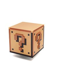 Don't hit your head on this Super Mario Bros Question Block Lamp. Lava, Gaming Lounge, Geek Gadgets, Office Gadgets, Geek Room, Cool Lamps, Super Mario Bros, Room Themes, Household Items