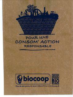 biocoop paper bag