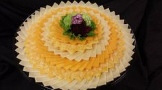 Creative Cheese and Cracker Trays | selection of cheeses arranged beautifully and ready to add