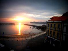 Beautiful Sunrise in Candás (Asturias)