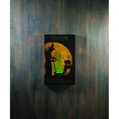 LIGHTED WITCHES BREW CANVAS