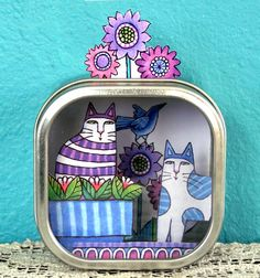Tin Can Diorama