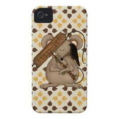 Fall Mouse iPhone case mate barely there 4/4s iPhone 4 Case
