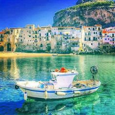 Cefalu, Sicily. On our list to visit. Leading Wineries of Napa. LwNapa.com