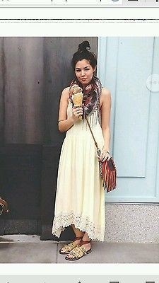 NEW ANTHROPOLOGIE FREE PEOPLE BALKAN Blue & Gold TAPESTRY WOMENS SANDALS US 8.5