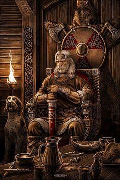 Norse Tree Of Life Tattoo Vikings Nine Durso 57 Ideas Art Viking, Viking Warrior, Viking Age, Viking Woman, Medieval Fantasy, Dark Fantasy, Fantasy Art, Viking Culture, Old Norse