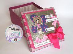Delfina scrapbook y más...: Odeth