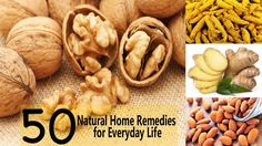 Top 50 Natural Home Remedies for Everyday Life Ayurvedic Home Remedies, Natural Home Remedies, Beauty Care, Allergies, Burns, Hair Care, Skincare, Medical, Cold