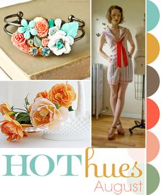 Hot Hues August Color Challenge!
