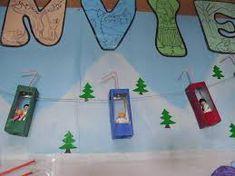 Resultado de imagen de mural invierno