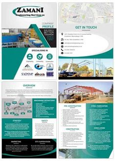 Company Profile Designers South Africa   Order Yours Now   Web Devine Corporate Profile, Business Profile, Design Brochure, Logo Design, Company Profile Design, Company Letterhead, Design Presentation, Engineering Companies, Steel Fabrication