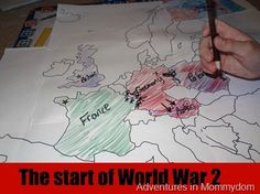 Teaching about the start of World War 2....great to introduce Number the Stars :) Excellent Blacklined Maps