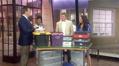 On 7/30/14 Joanna and Chip Gaines were on the TODAY show: Have an empty nest? Turn that room into a fun, new space - TODAY.com Here is the clip...enjoy