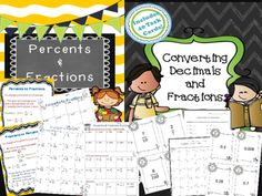 In+this+Fractions,+Decimals,+and+Percents+Bundle,+you+will+receive+4+total+products.++Included+in+this+bundle+are+the+following+concepts:*10+no+prep+student+printables+*Decimals+to+percents*Percents+to+decimals*Percent+of+a+number*Fractions+to+percents*Percents+to+fractions*Colorful+classroom+signs+The+concepts+in+this+bundle+are+appropriate+for+5th+and+6th+grade+math+students.