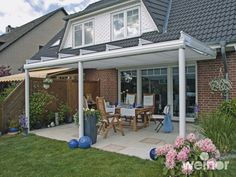 outdoor awnings mounted on roof | Weinor Terrazza Photo Gallery from Samson Awnings & Terrace Covers
