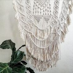 This HANmademacrame wall hanging is hand-made by Hanifah Tohir and is made to order. Each macrame is a unique and exclusive piece as the wood branch used is different in shape and colour to any other piece. It is a perfect wall-hanging to turn your room into a cosy space.   Measurement Length 38cm approx. Height 87cm approx.