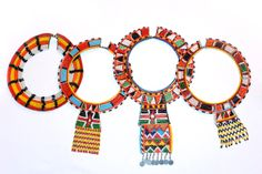 DCurio | PATTERN Masai Mara Tribe Statement-Piece Choker Necklace from Kenya | Online Store Powered by Storenvy