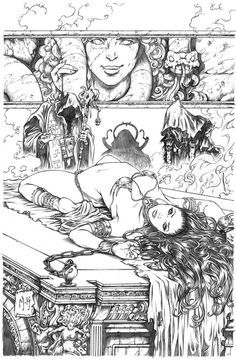 Ancient Dreams #3 Cover Pencils by Kromespawn.deviantart.com on @deviantART