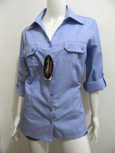 wengpot New Auth Atttitudes roll-up sleeves blouse Orig Price: P949.75 XL