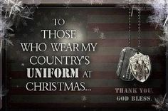 THANK YOU.. #supportourtroops