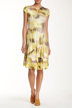 Lace Inset Keyhole Dress by KOMAROV on @nordstrom_rack