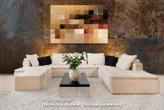 Modern Tile Art | Tile Art #15, 2013 | Modern Abstract Painting