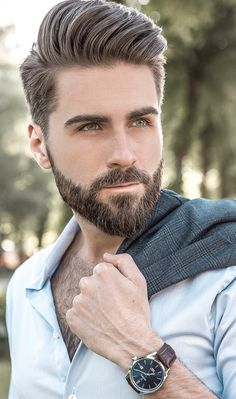 15 Quiff Hairstyles We Absolutely Love Beard Barbe Mens Hairstyles With Beard, Quiff Hairstyles, Cool Hairstyles, Hairstyle Ideas, Mens Haircuts Pompadour, Mens Hairstyles 2018, Pompadour Hairstyle, Gorgeous Hairstyles, Beard Styles For Men