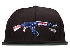 AK-47 Snapback Cap by DEADLINE LTD