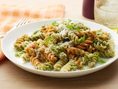 Broccoli-Walnut Pesto With Pasta- Superstar vegetable broccoli is the ...