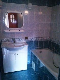 #ODJECHANAłazienka W Hotel, Corner Bathtub, Retro, Bathroom, Washroom, Full Bath, Bath, Retro Illustration, Bathrooms